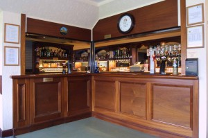 The bar offers a wide selection of beers, wines spirits and soft drinks at competitive prices