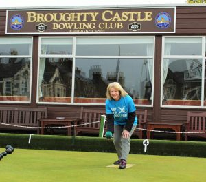 Cabinet Minister for Sport Shona Robison tries her hand at bowls and addresses a recent meeting of the Scottish Sports Association