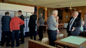 The public are invited to inspect proposed  flood defence plans at Broughty Castle Bowling Club